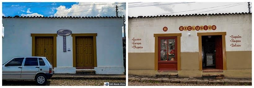 Prédio da Aprovart de Catas Altas e loja de São Miguel: minissérie Se Eu Fechar os Olhos Agora. Foto do cenário: Marilane Batista/Ascom