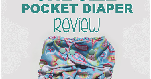 FuzziBunz One Size Pocket Diaper Review