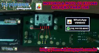 moto g2 conector usb trilhas