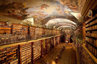 H πιο όμορφη βιβλιοθήκη του κόσμου βρίσκεται στην Πράγα - ΕΙΚΟΝΕΣ