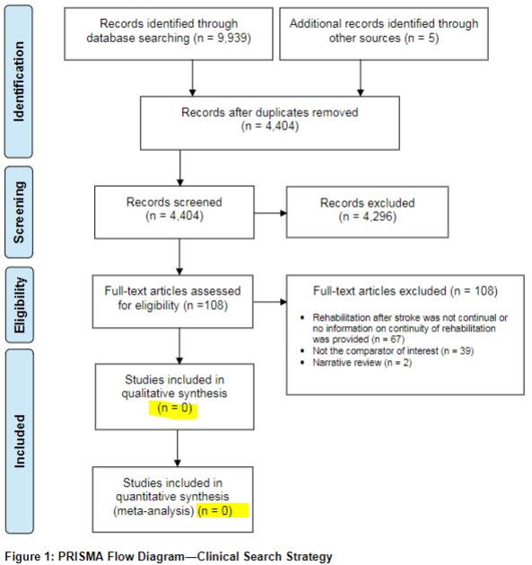 図:長期的理学療法の研究を厳選