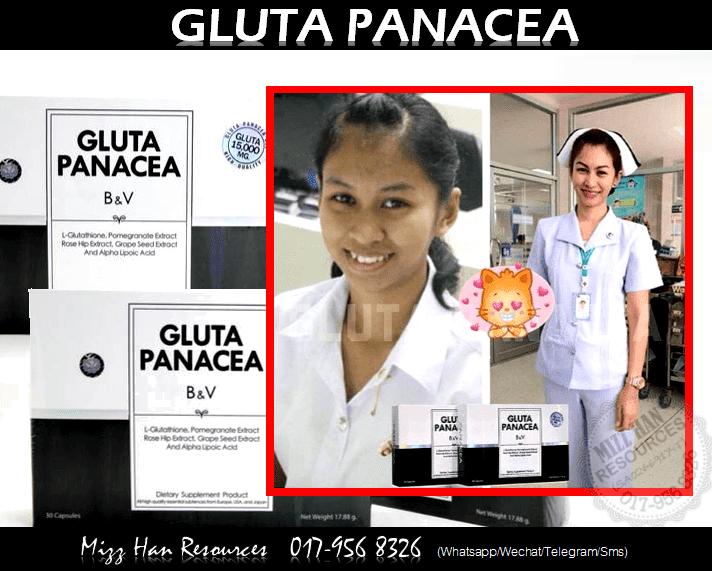 GLUTA PANACEA ORIGINAL | MHR Stokis Produk Kecantikan