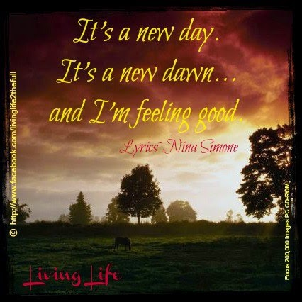 Its A New Dayits A New Dawnand Im Feeling Good Quotes