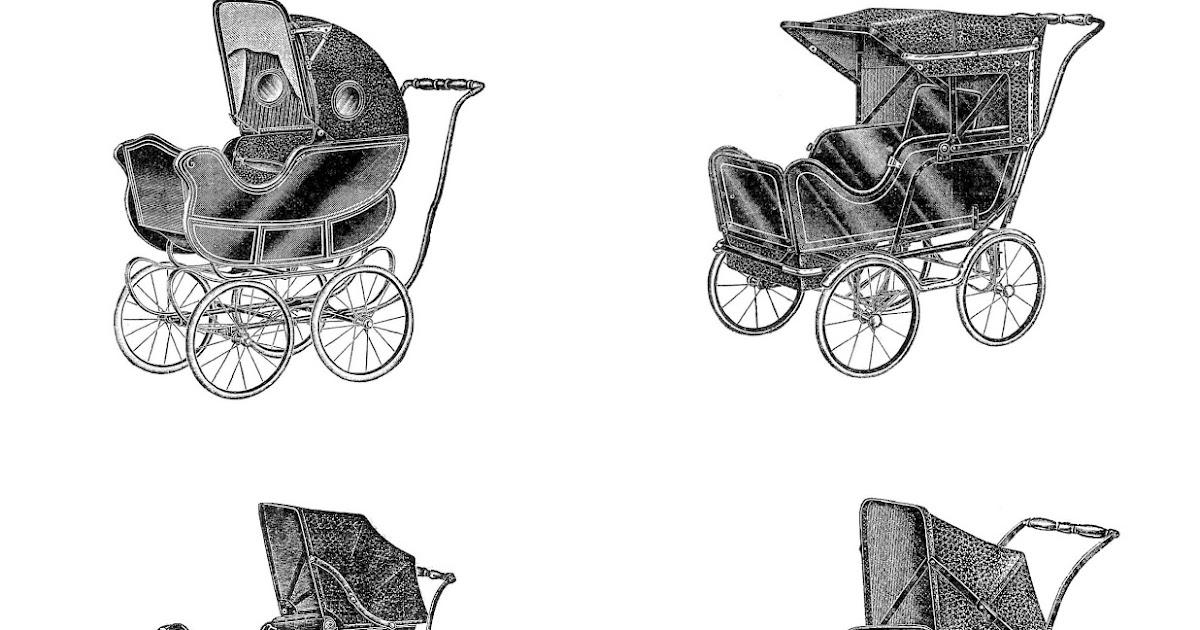 Antique Images: Digital Collage Sheet: 6 Vintage Baby