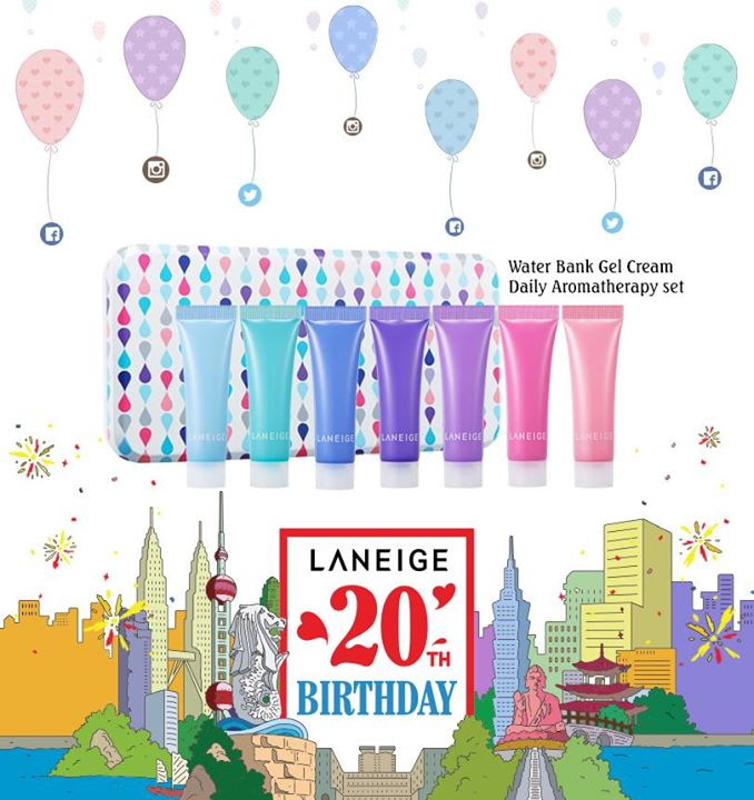 Happy 20th Birthday Laneige!