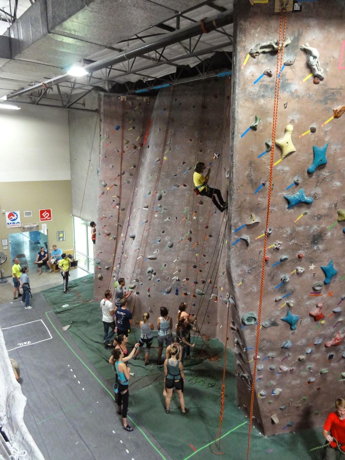 Austin Top 50 Fun in the Sun: Austin Rock Gym