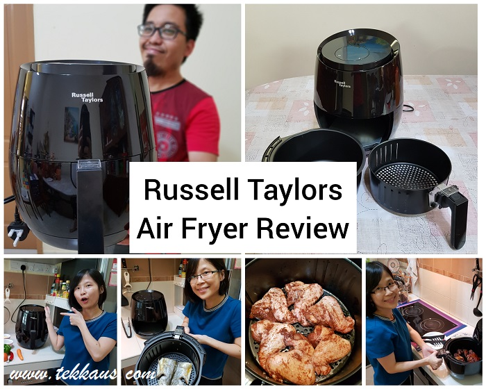 Russell Taylors Air Fryer-My Honest Review