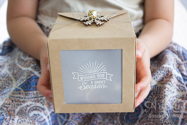 Oh, What Fun Gift Box/Luminaire ~ Susan Wong