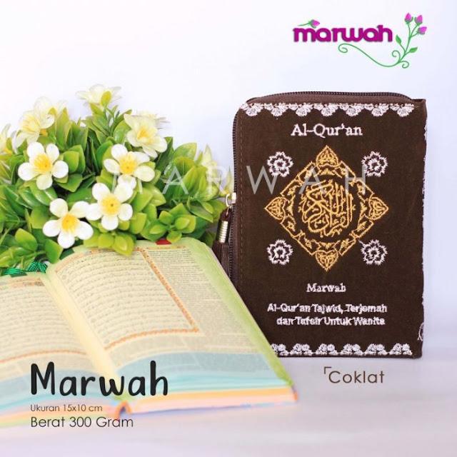 Alquran Wanita Marwah Coklat