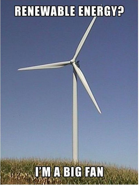 Photo Renewable Energy Big Fan Image