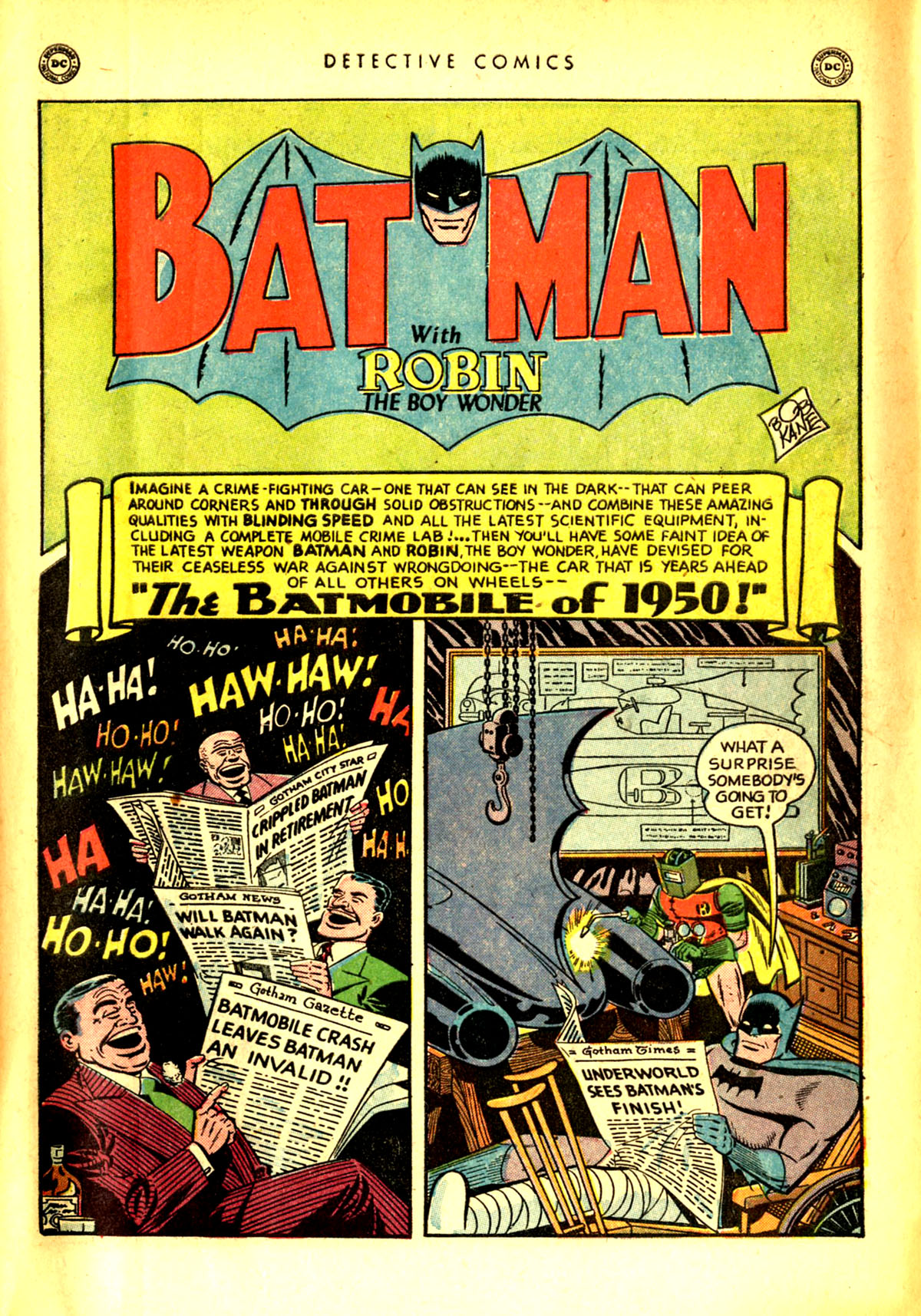 Read online Detective Comics (1937) comic -  Issue #156 - 3