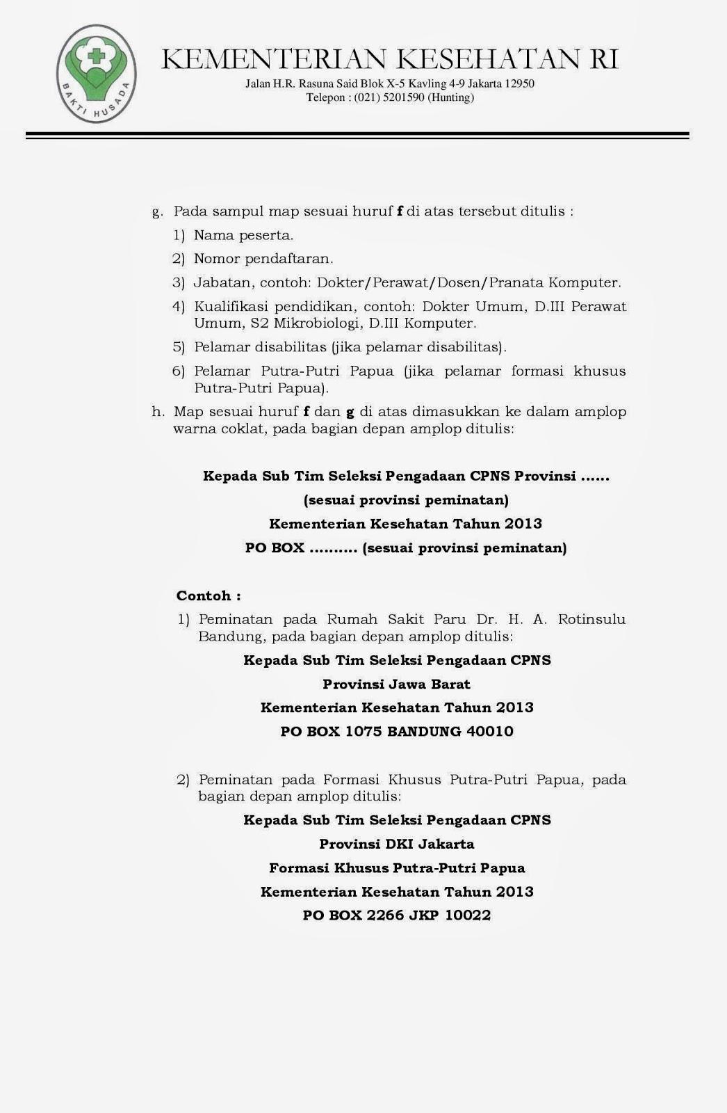 Formasi Cpns 2013 Depkes Kementerian Kesehatan Ri Biro Kepegawaian Lowongan Pengumuman Penerimaan Cpns Kementrian Kesehatan Tahun 2013