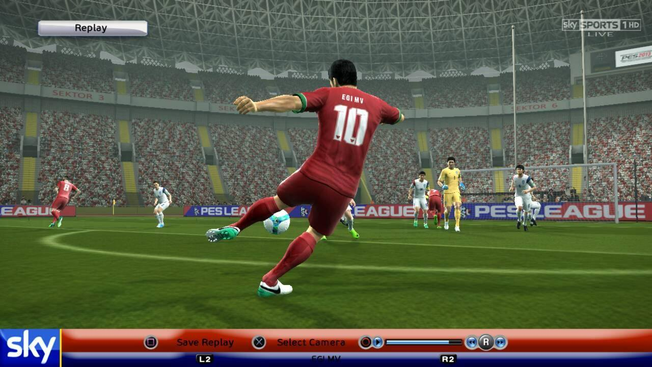 PESMODIF: Update Timnas Indonesia for PES 2013 by Muhammad Iqbal Rustan‎