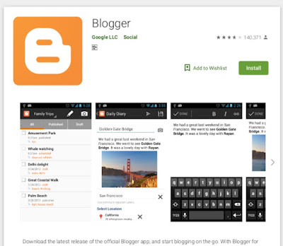 Top 10 must have android apps for bloggers