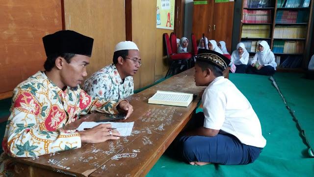 Siswa Siswi MTsN 1 Probolinggo Semangat Untuk Tes Tahfidzul Qur'an