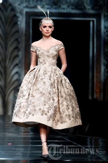 Model Gaun Kebaya Pesta Modis dan Trendy Terbaru