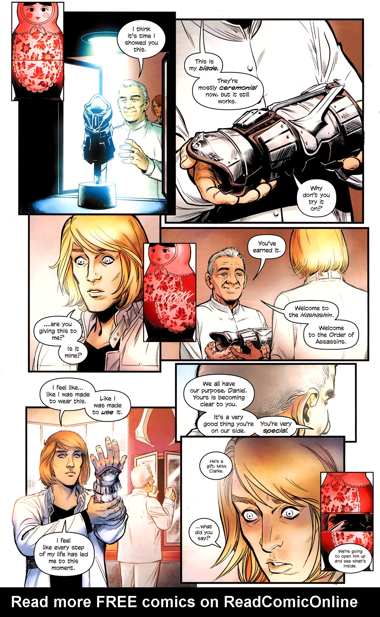 Read online Assassin's Creed: The Fall comic -  Issue #3 - 18