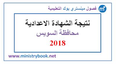 نتيجة الشهادة الاعدادية محافظة السويس 2018 برقم الجلوس