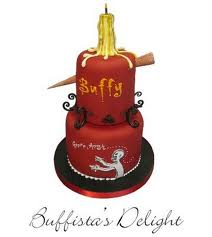 A very Buffy birthday cake