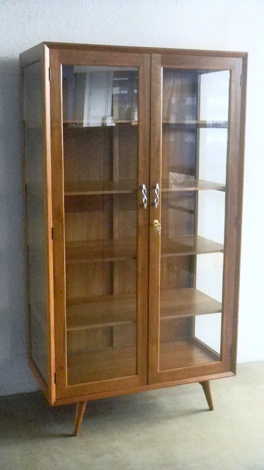 Vintage Display Cabinets 48