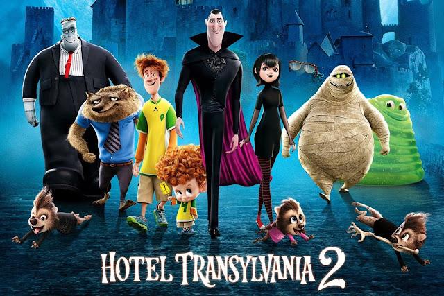 foto dan Video Hotel Transylvania 1 dan Hotel Transylvania 2