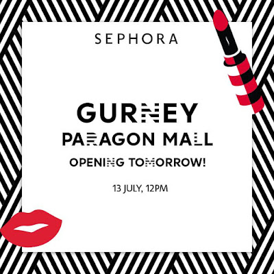 Grand Reopening of Sephora Gurney Paragon Free Cash Voucher