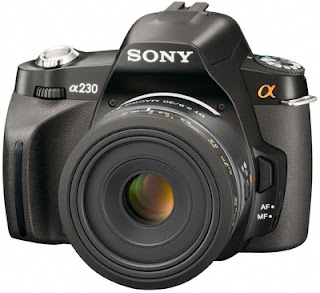Câmera digital Sony DSLR-A230