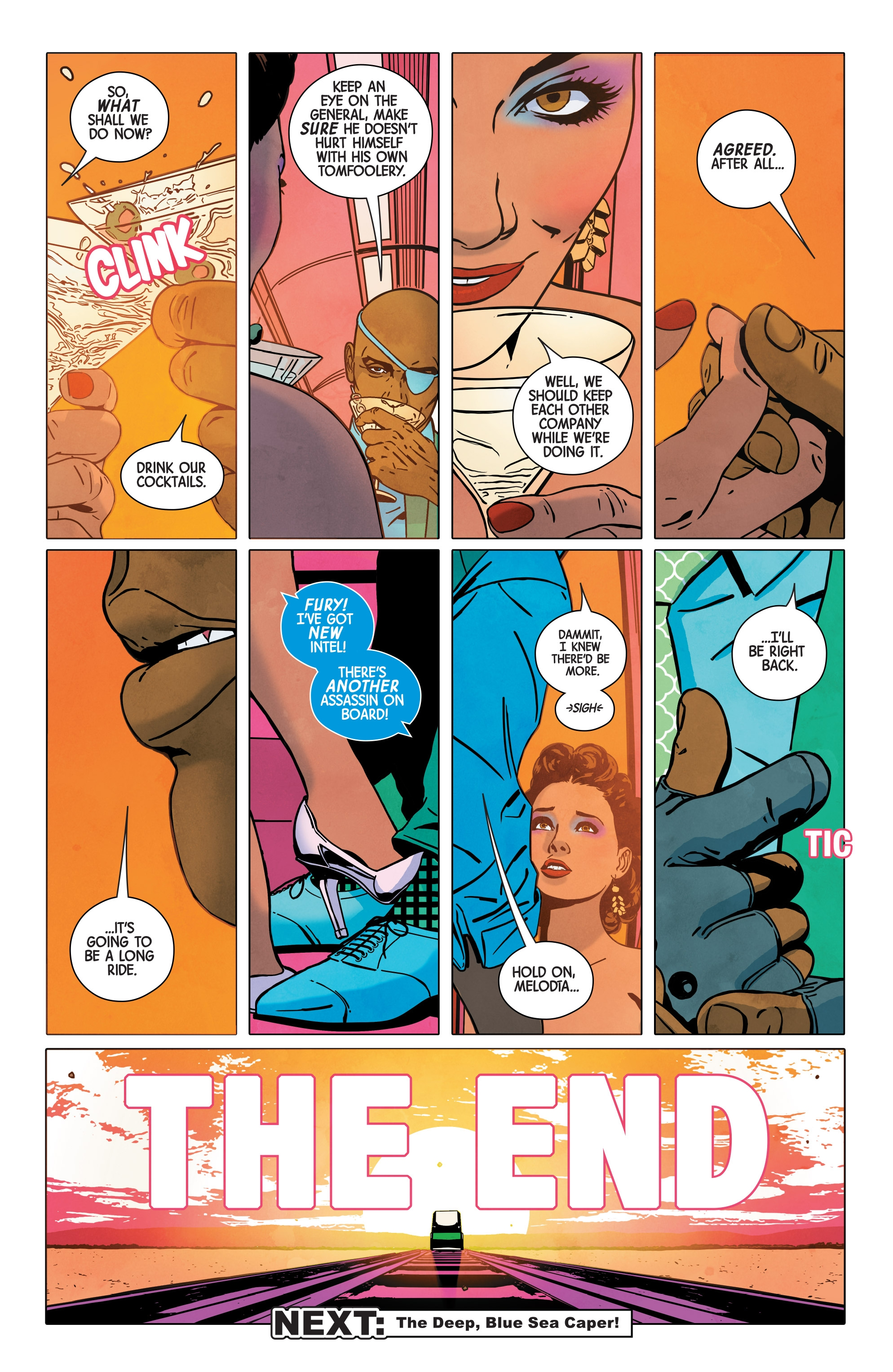 Read online Nick Fury comic -  Issue #3 - 19