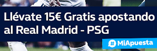william hill promocion Real Madrid vs PSG 14 febrero