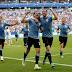 Uruguay goleó a Rusia y se quedó con el liderazgo del Grupo A