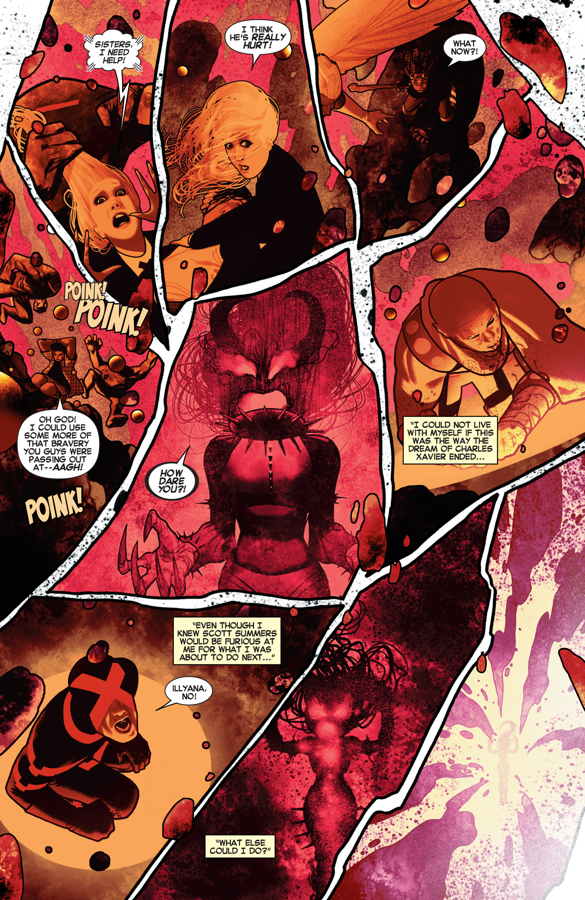 Read online Uncanny X-Men (2013) comic -  Issue # _TPB 2 - Broken - 31