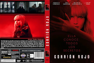 CARATULA GORRION ROJO - RED SPARROW 2018