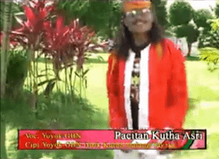 Lirik Lagu Pacitan Kutho Asri - Yoyok GBN