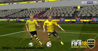 FTS 15 Mod FIFA 18 by Duhan Apk + Data Obb