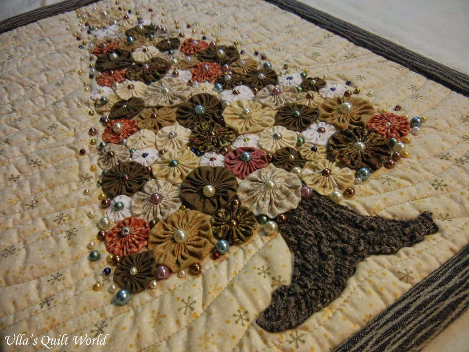 Ulla's Quilt World: Christmas Tree Quilt