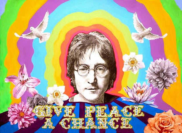 John Lennon, franciscain ?