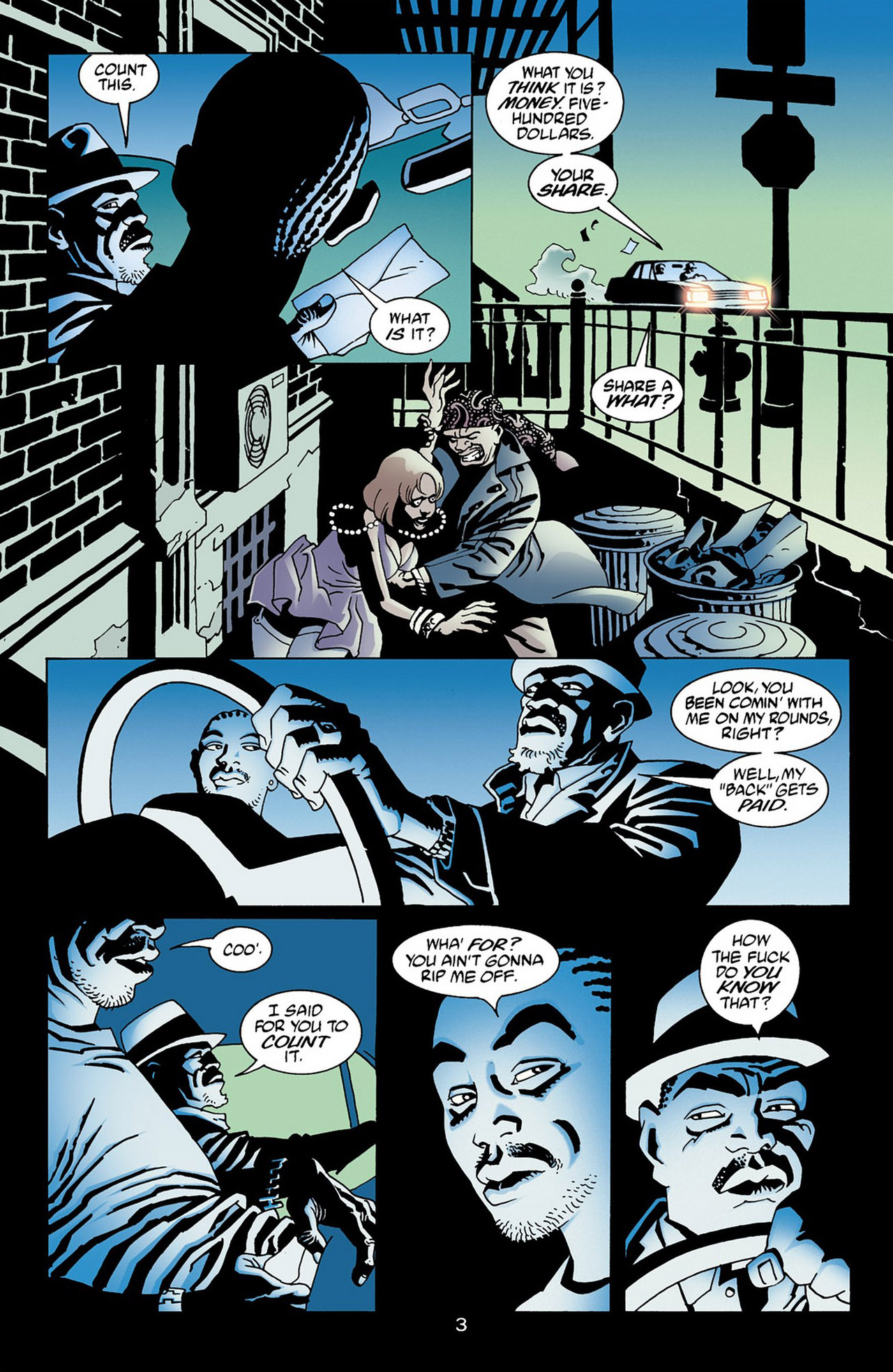 100 Bullets 16 Page 3