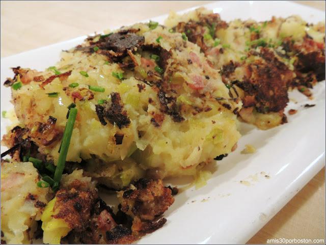 Hash de Patatas, Puerros y Beicon en la Clase de Cocina de Sur la Table