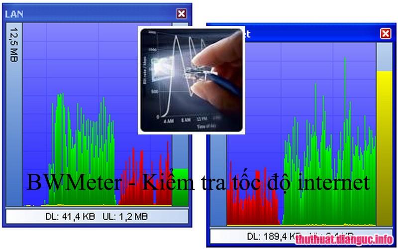 Download BWMeter 8.0.0 Full Cr@ck – Phần mềm theo dõi kiểm soát lưu lượng internet