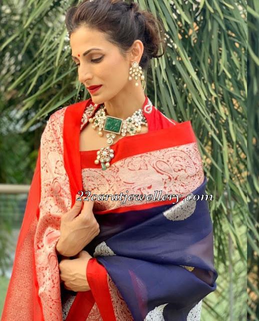Shilpa Reddy Pachi Work Chokers