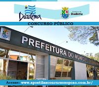 Apostila Prefeitura Municipal de Diadema-SP concurso 2016.