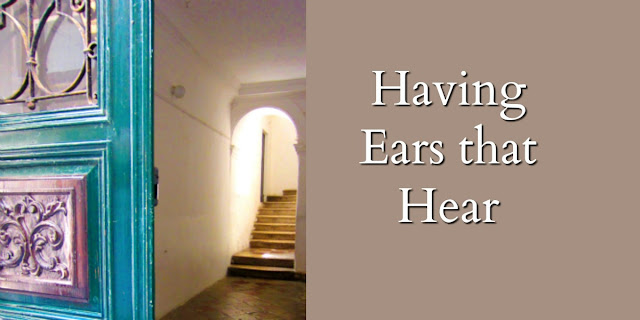 Proverbs 8:34, Let those with ears listen daily at God's door