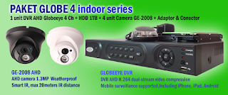 Paket Hemat CCTV Globeeye Harga Murah Terbaru 2016