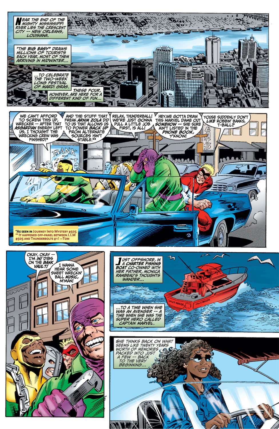 Read online Avengers (1998) comic -  Issue #16 - 5
