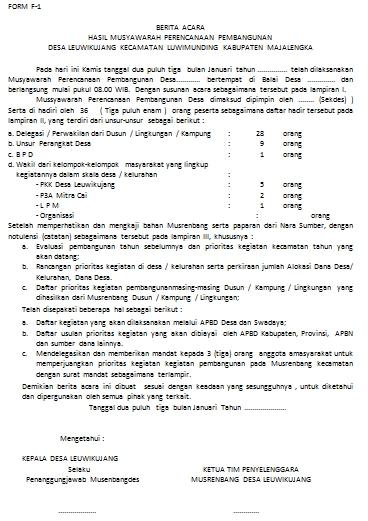 Format Administrasi Desa: PANDUAN DAN ADMINISTRASI ...
