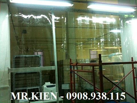 Vách nhựa PVC ngăn bụi bẩn Nhà máy Daiichi Seiko