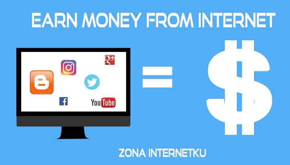 mendapat uang di internet