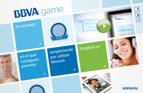 Micro-site BBVA Game