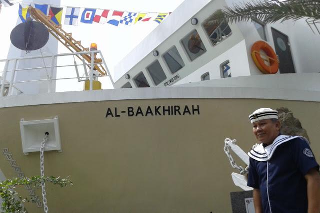 """Masjid """"Kapal Nuh"""" yang Dibangun Nahkoda Perang Trikora Ini Buat Aa Gym Takjub"""