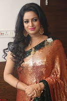 Udaya Bhanu lookssizzling in a Saree Choli at Gautam Nanda music launchi ~ Exclusive Celebrities Galleries 058.JPG